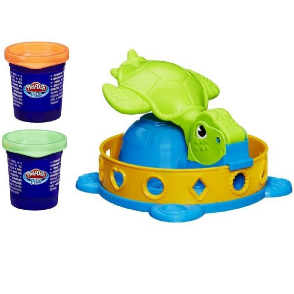 Play Doh Playdoh Twist 'N Squish Turtle Includes 2 x Pots Of Play-Doh Plus